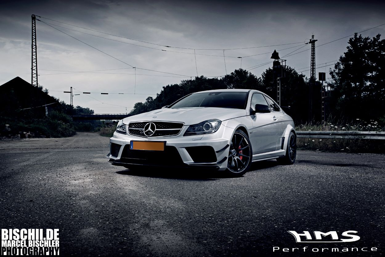 C63 AMG Coupe Black Series RS700 by HMS-Performance