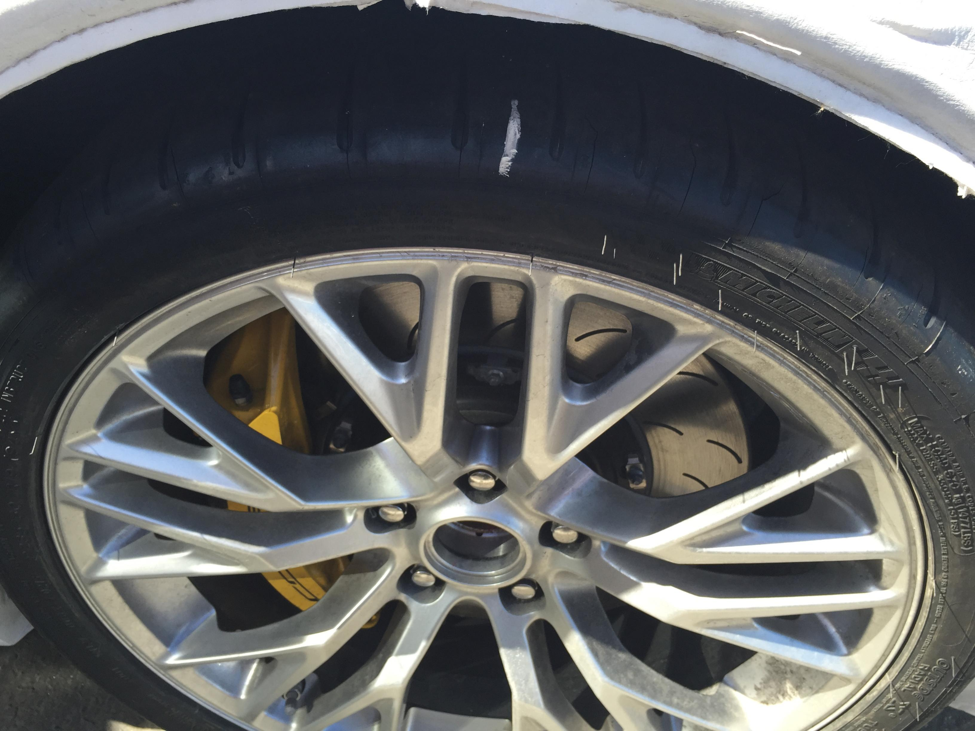 C7 Corvette Cracked Tires Problem Explained by Michelin ...