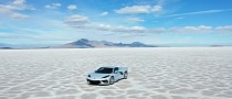 C8 Chevy Corvette Road-Trips From LA to Utah Testing All-Season Performance Tire