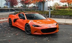 C8 Corvette Face Swapped With Mazda MX-5 Miata, Looks Like It's Grinning