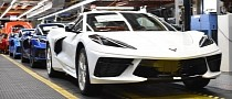 """C8 Corvette Production Resumes After Temporary Stop Over """"Supply Shortage"""""""