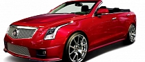 Cadillac ATS Becomes a Four-Door Convertible via NCE [Photo Gallery]