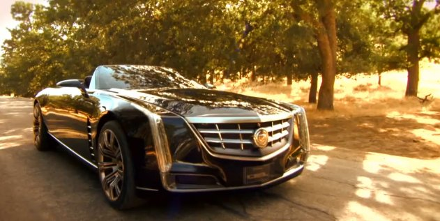 Cadillac Ciel Concept Revealed At Pebble Beach Autoevolution