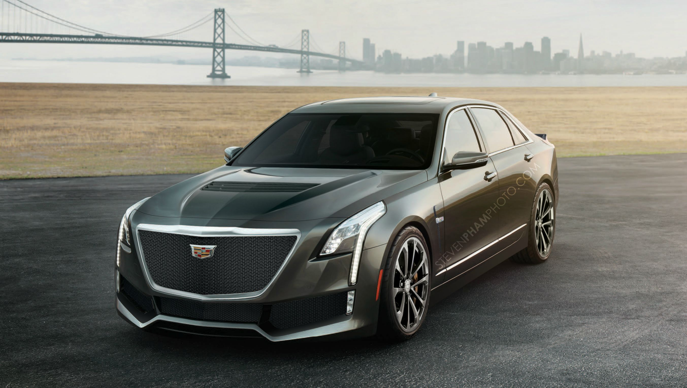 cadillac ct6 v why a hot ct6 would make sense autoevolution. Black Bedroom Furniture Sets. Home Design Ideas