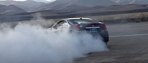 Cadillac CTS-V Coupe Burnout! [Video]
