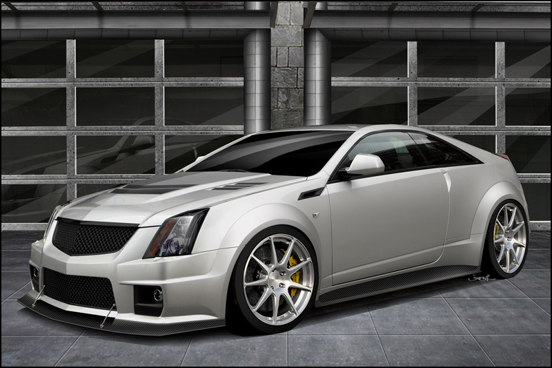 The Manufacturer Planned To Release Only 12 Units Of Cadillac Cts Hennessey V1000