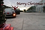 Cadillac CTS-V Santa Claus Drifting Video