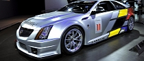Cadillac CTS-V Turned into Virtual Race Car