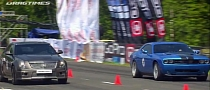 Cadillac CTS-V Wagon vs Challenger SRT-8 vs C63 AMG [Video]