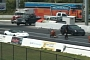 Cadillac CTS-V Wagon vs Corvette ZR1 Drag Race [Video]