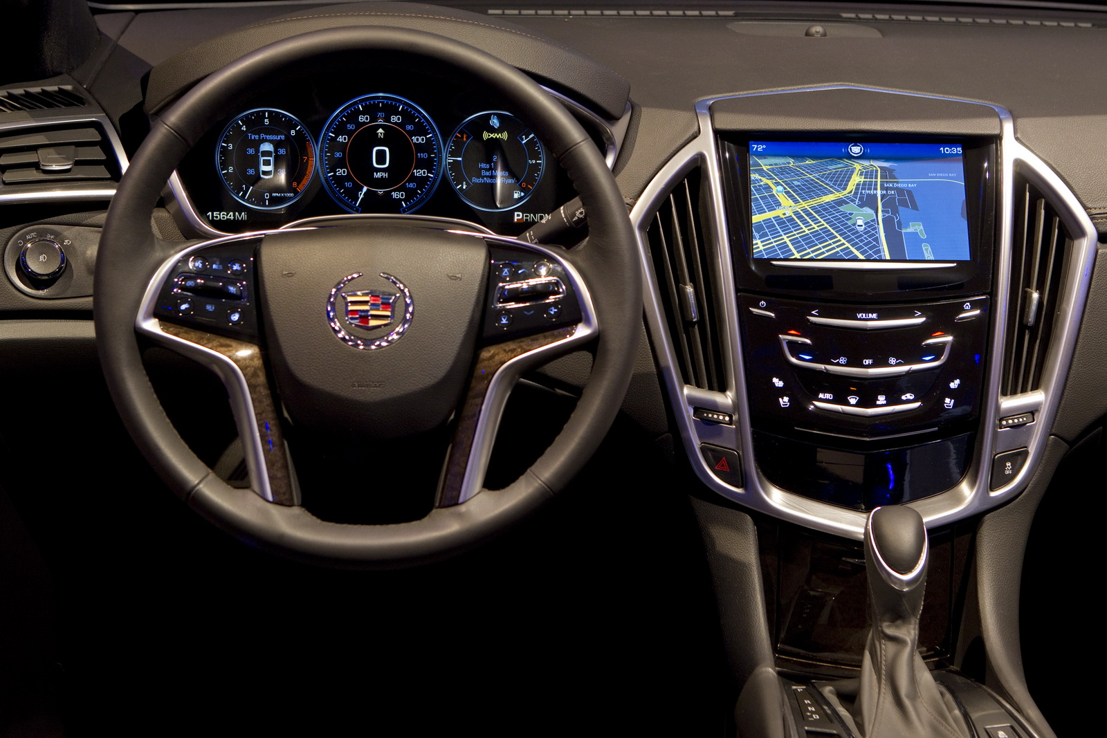 Cadillac Cue Infotainment System In 2012 Xts Interior