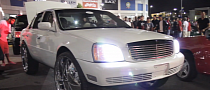 Cadillac DeVille on 30-Inch Rims in Toronto [Video]
