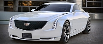 Cadillac Elmiraj Concept Rendered in White