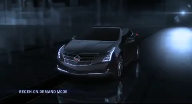 Cadillac ELR Fitted With Regenerative Braking Shift Paddles [Video]