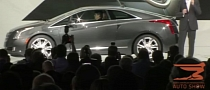 Cadillac ELR Luxury Coupe Reveal Footage from 2013 NAIAS [Video]