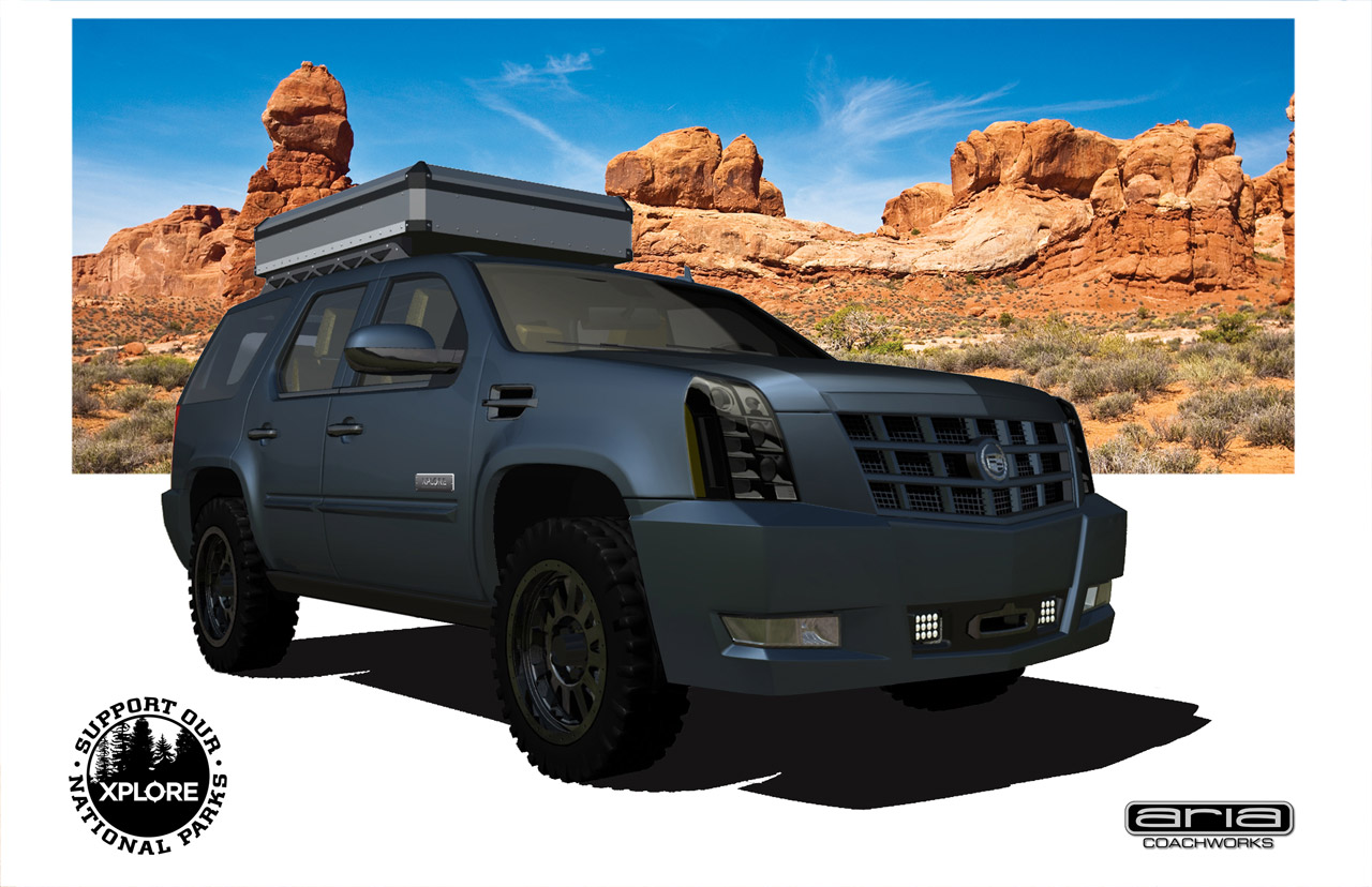 Cadillac Escalade Gains Off Road Capabilities Via Aria