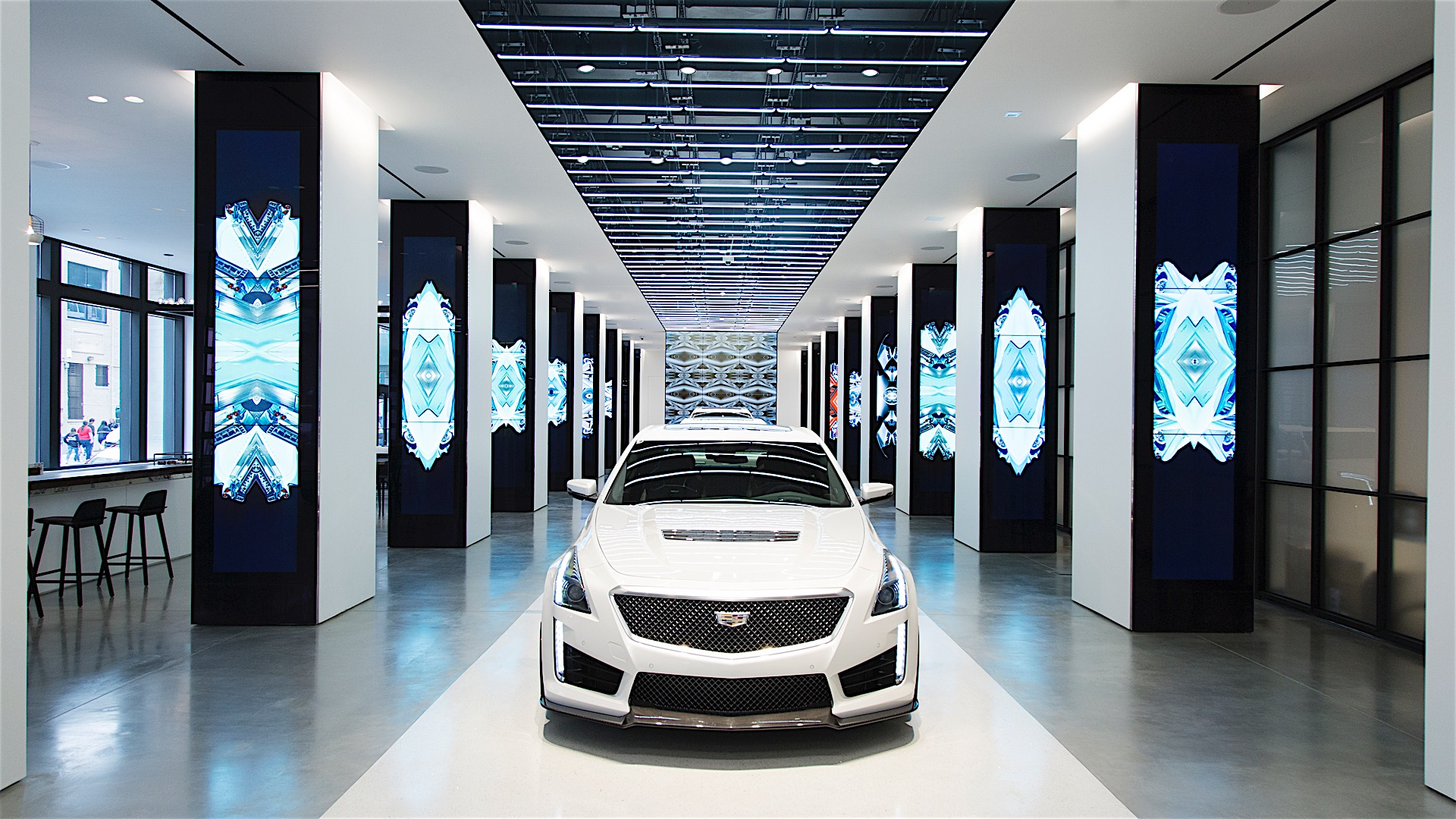 cadillac opens concept store in new york calls it cadillac house autoevolution. Black Bedroom Furniture Sets. Home Design Ideas
