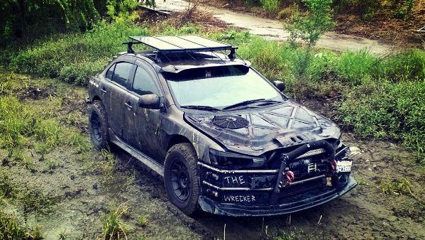 2016 Lancer Evolution >> Californian Mitsubishi Driver Turns His Crashed Lancer ...