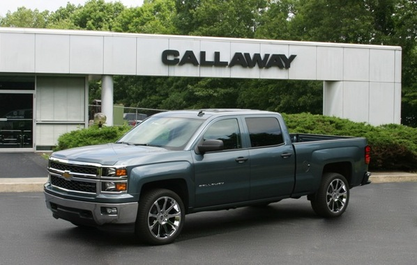 Callaway Working on Supercharged 2014 Silverado and Sierra Trucks