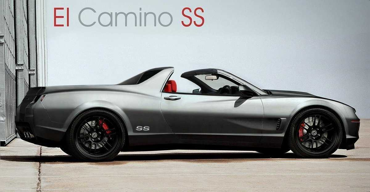 Camaro El Camino Ss Rendering Is Too Good To Be True