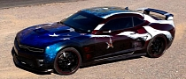 "Camaro ZL1 ""Freedom Fighter"" - When Performance Meets the Military [Photo Gallery]"