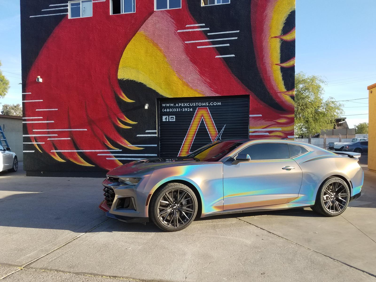 Camaro Zl1 Owner Wraps His Car In 3m Gloss Flip