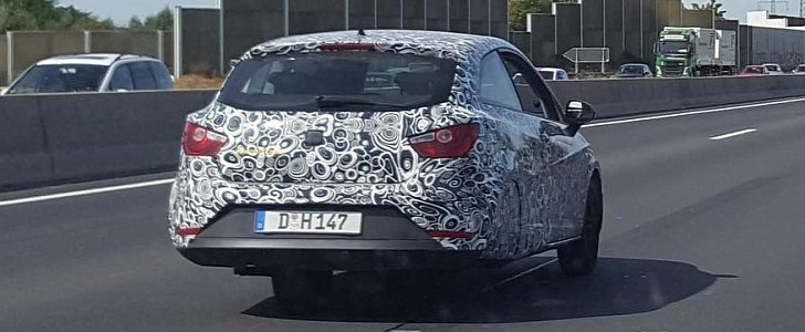 Camouflaged Seat Ibiza 3 Wheeler Testing In Germany Looks Like Bmw Isetta Autoevolution
