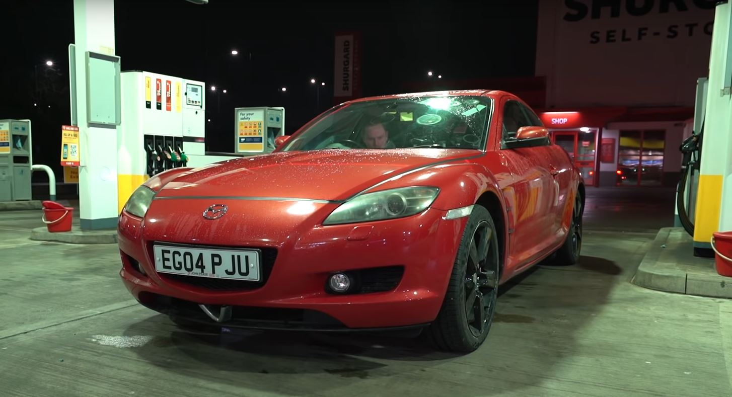 Can A Mazda Rx 8 With A Rebuilt Engine Do 400 Miles On One Tank