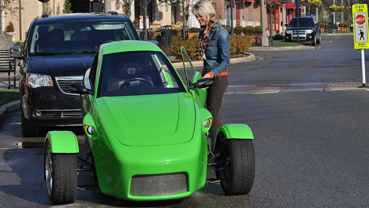 Can am inspired elio 3 wheeler autoevolution for Am motors used cars