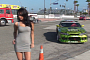 Can Melyssa Grace Distract Formula Drift Drivers? [Video]