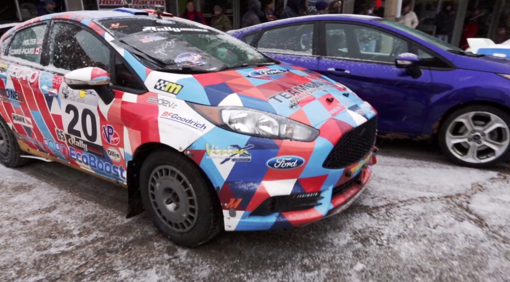 Can The Stock Ford Fiesta ST Keep up With a Fiesta ST Rally Car ...