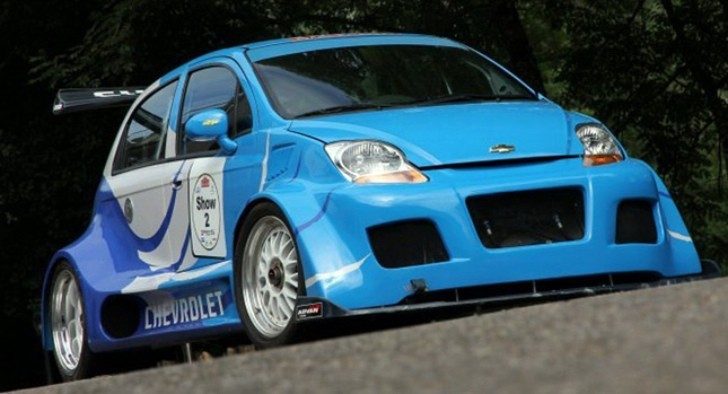 Can You Fit A Corvette V8 Inside a Matiz? Yes and It's For Sale!