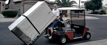 Can You Move a Fridge with a Golf Cart?