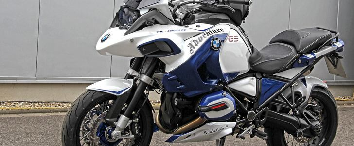 Toyota Zero Percent Can You Spot the BMW R1200GS Adventure in These Photos ...