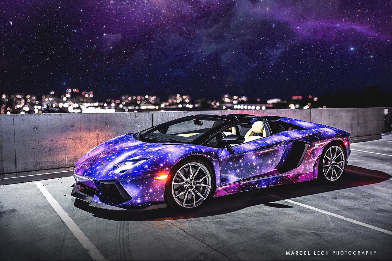 Canadian lamborghini aventador roadster is wildest yet for Interieur sport lebron james