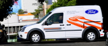 Canadian Mail Delivered by Ford Transit
