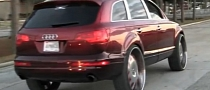Candy Audi Q7 on 30-Inch Forgiato Wheels [Video]