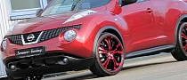 Candy-Red 'Tzunamee' Nissan Juke by Senner [Photo Gallery]