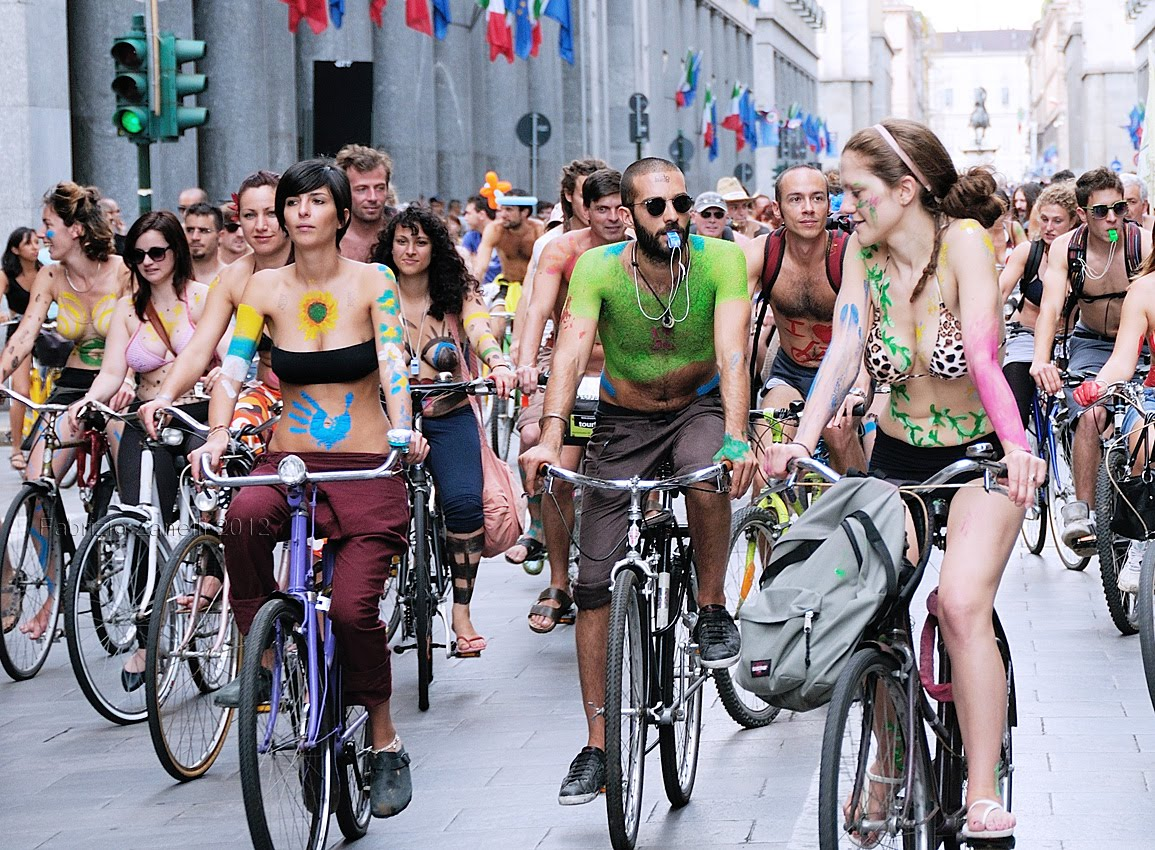 World naked bike ride day galleries 17