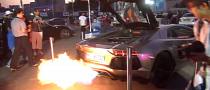 Capristo Lamborghini Aventador Flames Dubai [Video]