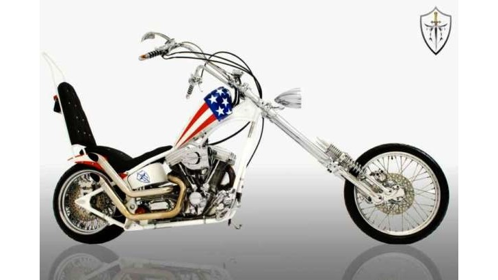 Captain America's Bike Is Made in Turkey [Photo Gallery]