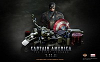 Captain America: The First Avenger debuts on July 22nd