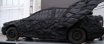 Car Art: Winged BMW Made From Tires