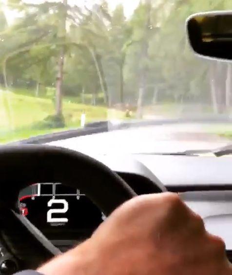 Ford Gt Drifting
