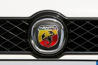 Abarth logo on Grande Punto