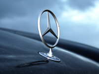 Mercedes tri-point star logo