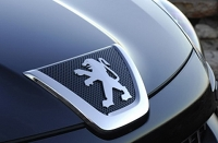 Peugeot's French lion badge