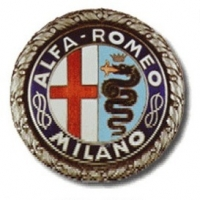 Alfa logo between 1925-1946