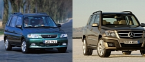 Car Look Alikes: Mazda Demio, Mercedes GLK