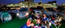 Car Park Campsite in London from Chevrolet